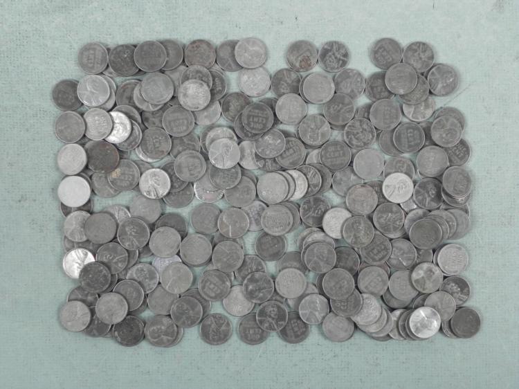 240 Mixed 1943 Steel Cents -Many Mint Marks