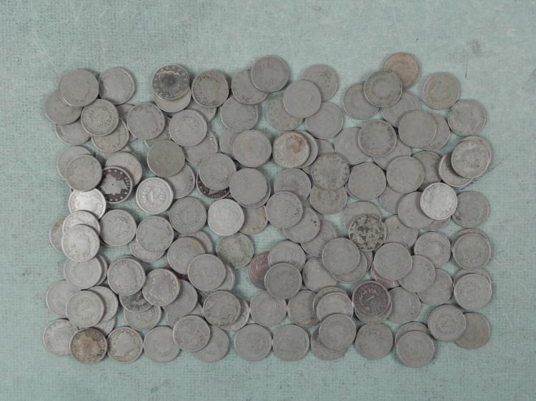145 Full Date V Nickels