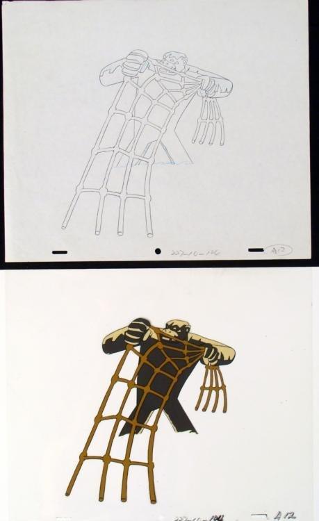 Drawing Original Production No Rodeo Herculoids Cel