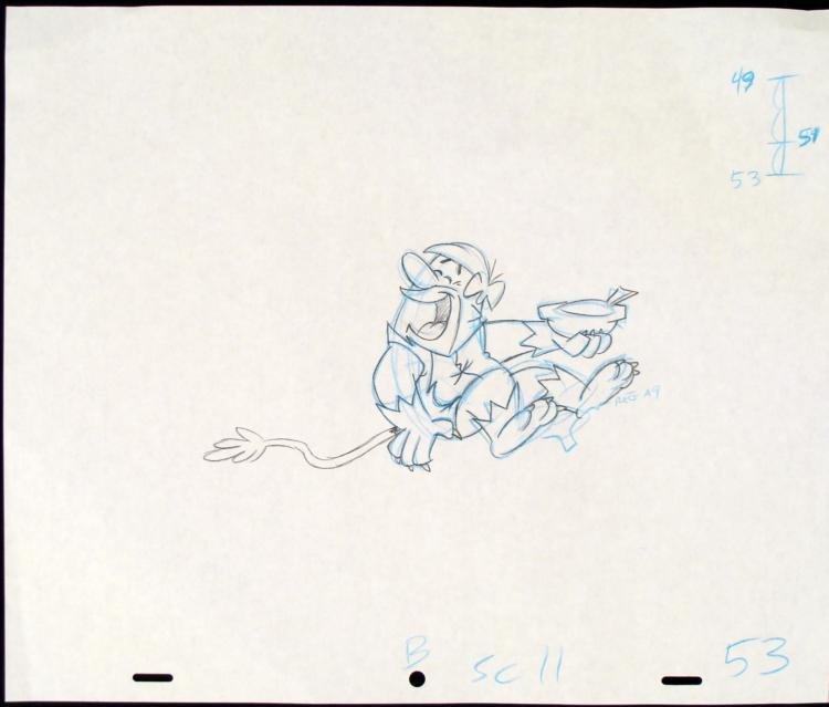 Comedian Drawing Original Production The Flintstones