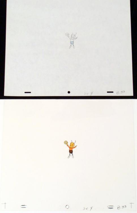 Cel Orig Animation Cheerios Bee Honey Nut Art Drawing