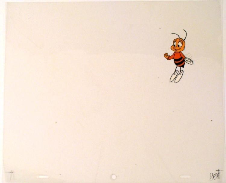 Buzz Orig Animation Honey Nut Cheerios Cereal Bee Cel