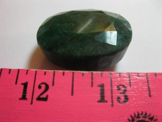 185.36 Brazilian Oval Cut Emerald