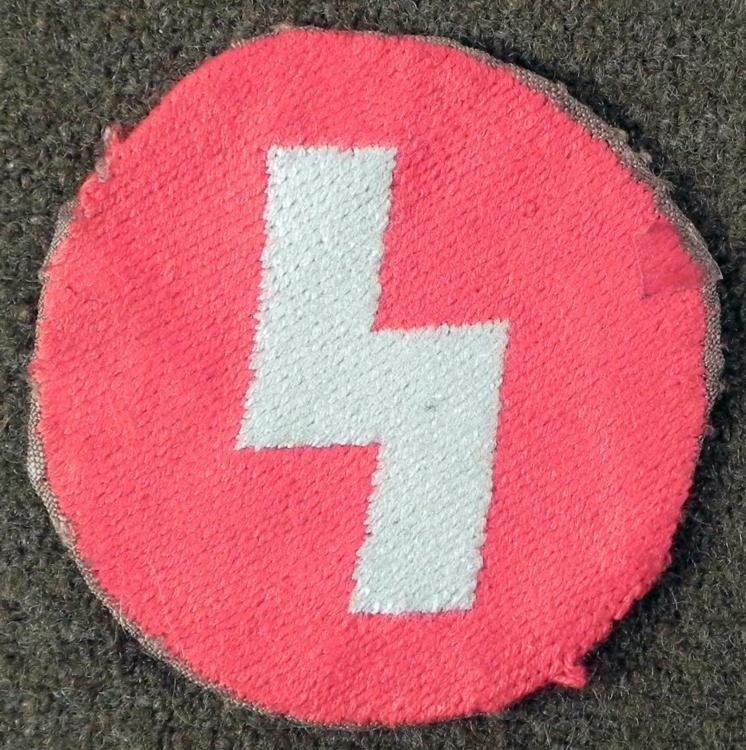 NAZI ORIG GERMAN YOUTH DEUTSCHEN JUGEND UNIFORM PATCH