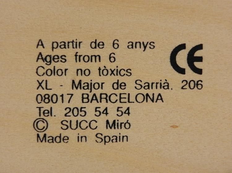 Joan Miro Domino Set Parler Seul Art Dominoes 1958 - 4