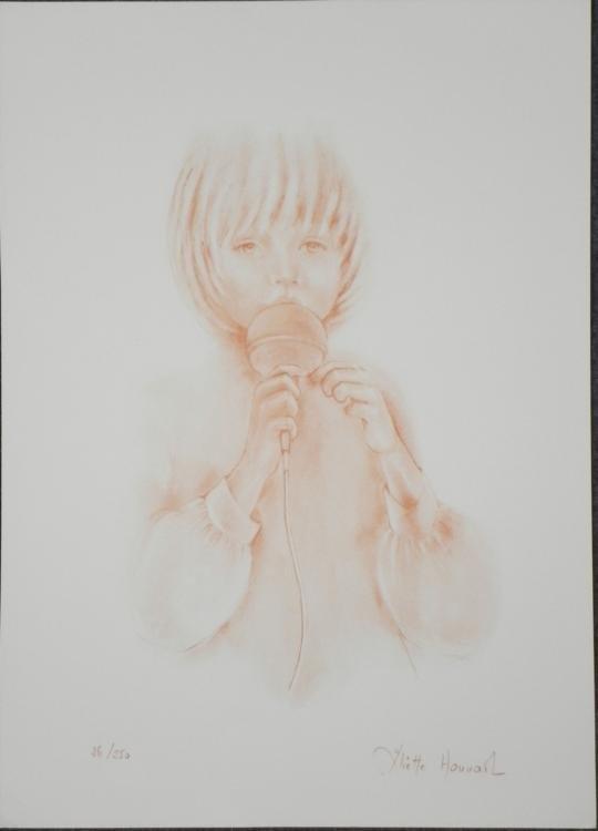 Juliette Honnart Music to My Ears S/N Lithograph Print