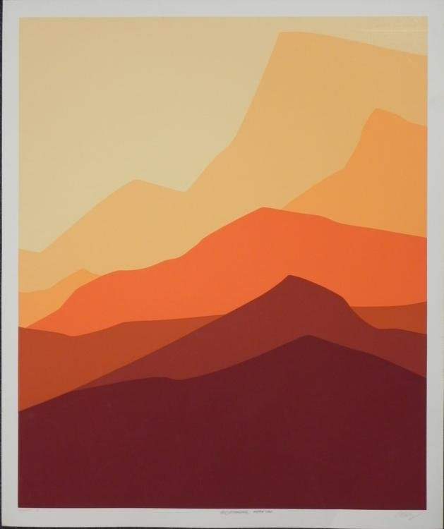 Artist Signed and Numbered Alpine B Art Print