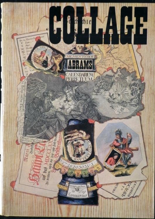 Collage Art Book 1st Ed Herta Wescher 1968