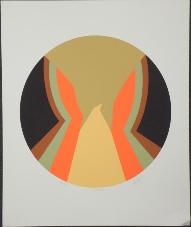 Phoenix VII Artist Signed Proof Modern Art Print