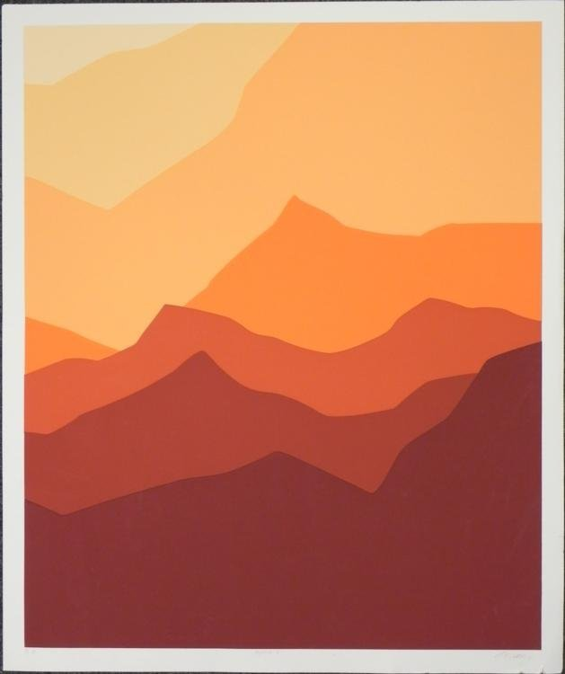 Alpine C Artist Signed and Numbered Art Print
