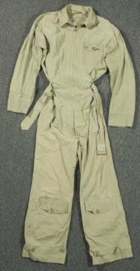 WWII U.S. AAF SUMMER FLIGHT SUIT SIZE M/40