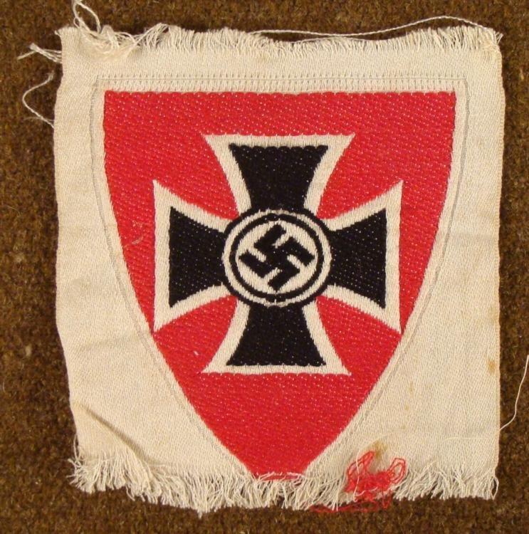 ORIGIANL NAZI SLEEVE PATCH FOR UNIFORM
