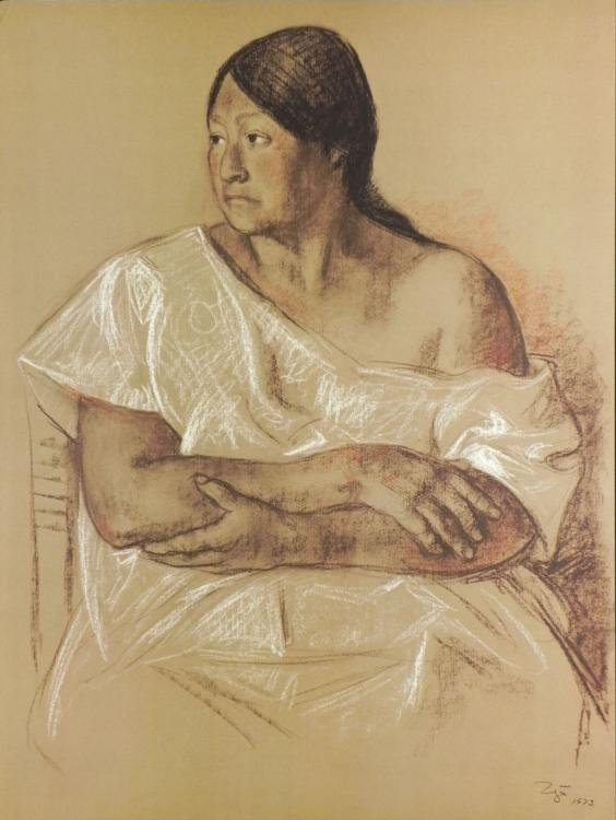 Francisco Zuniga Rosa from 20 Dibjuos Portfolio 1973