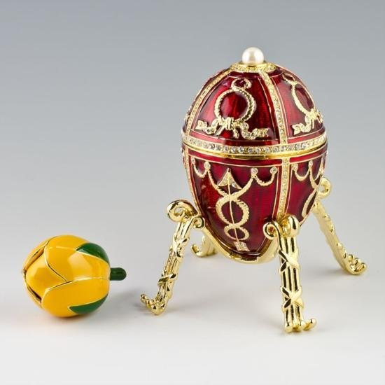 Rosebud Egg by Carl Faberge