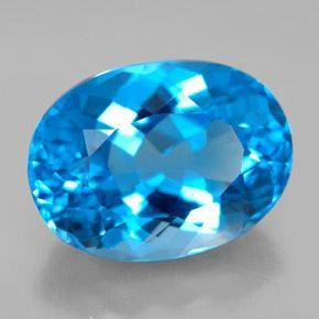 11.99ct Swiss Blue Topaz