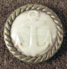 Spanish American War Antique Celluloid Button -Rare