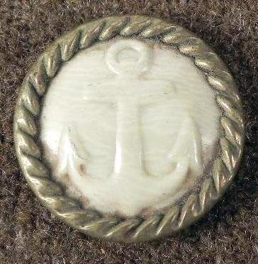 Spanish American War Antique Celluloid Button -Rare