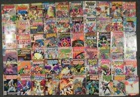 Mixed Lot 61 Marvel Comic Books Avengers Fantastic Four