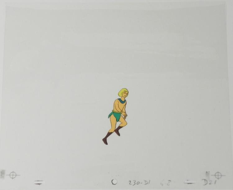 Herculoids Animation Pick Up the Pace Original Cel