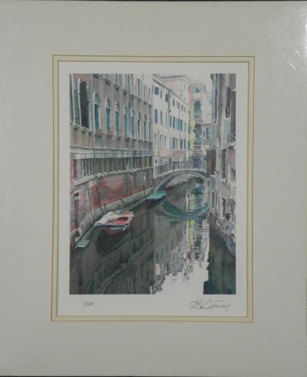 Marina Kontorina Venezia Signed & Numbered Giclee Print