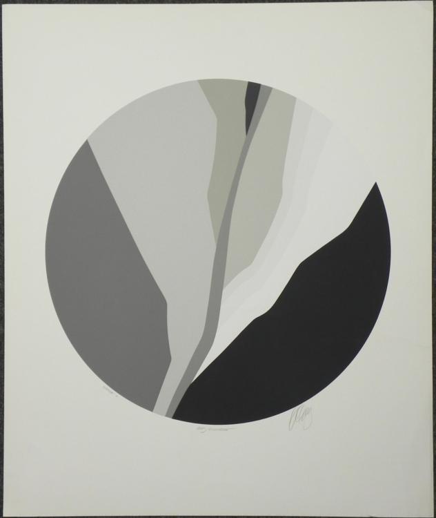 Mirage A Artist Signed HC Proof Modern Landscape Print