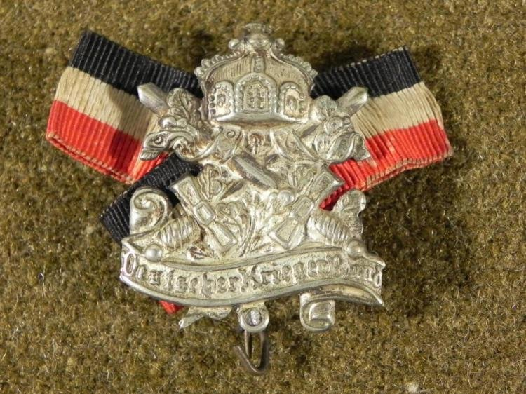 WWI IMPERIAL GERMAN MEDALLION -DEUTSCHES KRIEGERBUND