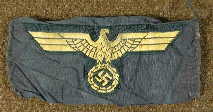 NAZI KRIEGSMARINE CAP EAGLE/SWASTIKA-ORIGINAL