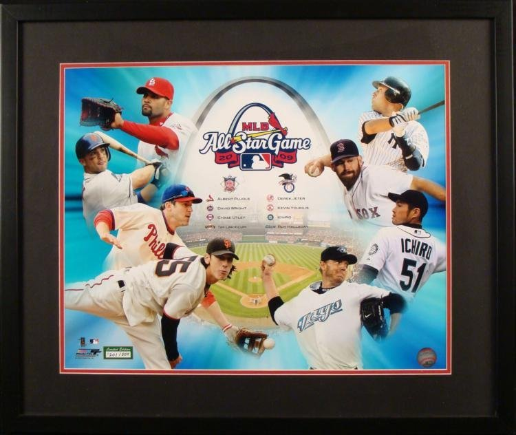 Limited Edition Photographic Collage 2009 All-Star Game