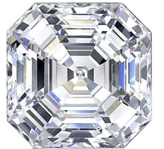 Bianco 6 Carat Asscher Cut Diamond