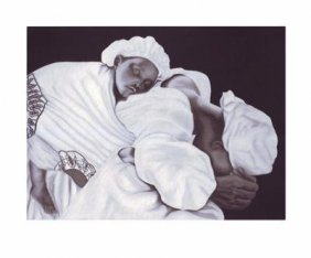 Anthony Jordan: Mother And Child Signed Giclee 2007