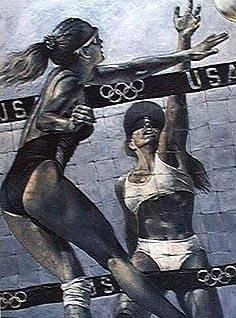 Holland, Stephen : Womens Volleyball