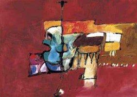 Cecilia Garcia Amaro Signed Art Print Al Son del Vino