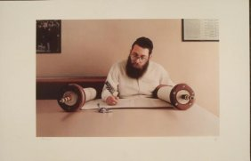 Max Ferguson : Torah Scribe Judaic Art Print