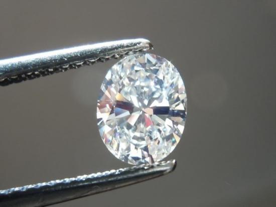 Bianco 2.5 carat Oval Brilliant Cut Diamond