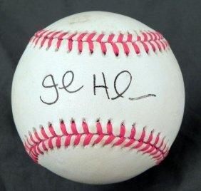 John Halama Autographed Baseball MLB