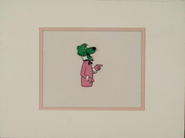 Green Snagglepuss Rare Originl Animation Production Cel