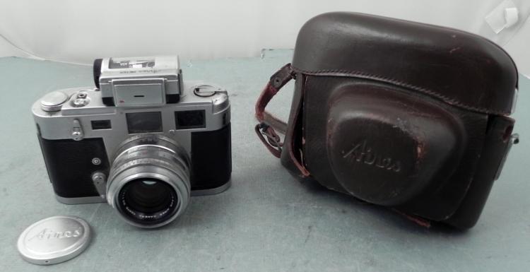 Aires Vintage 35mm Film Camera w/ Meter Japan