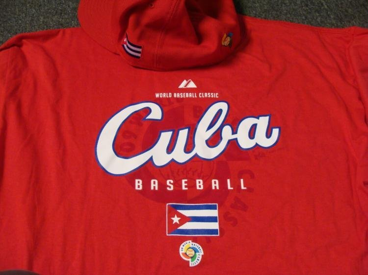 World Baseball Classic Cuba T-Shirt and Fitted Hat - 2