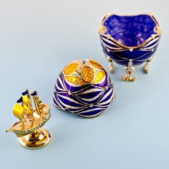 Faberge Inspired Egg - 4