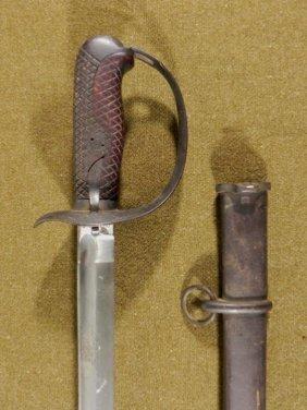 WWII ERA JAPANESE SAMURAI SWORD-MENJI PERIOD-TYPE 32-