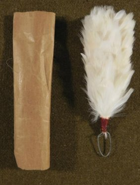 ORIG GERMAN IMPERIAL OFFICERS PARADE BUSBY HAT FEATHER