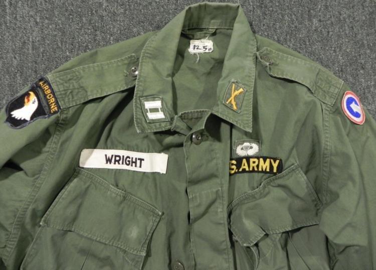 101ST AIRBORNE COMBAT TROPICAL UNIFORM JACKET AND PANTS - 2