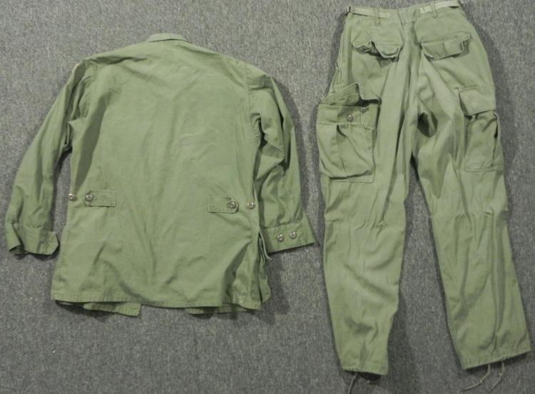 101ST AIRBORNE COMBAT TROPICAL UNIFORM JACKET AND PANTS - 3