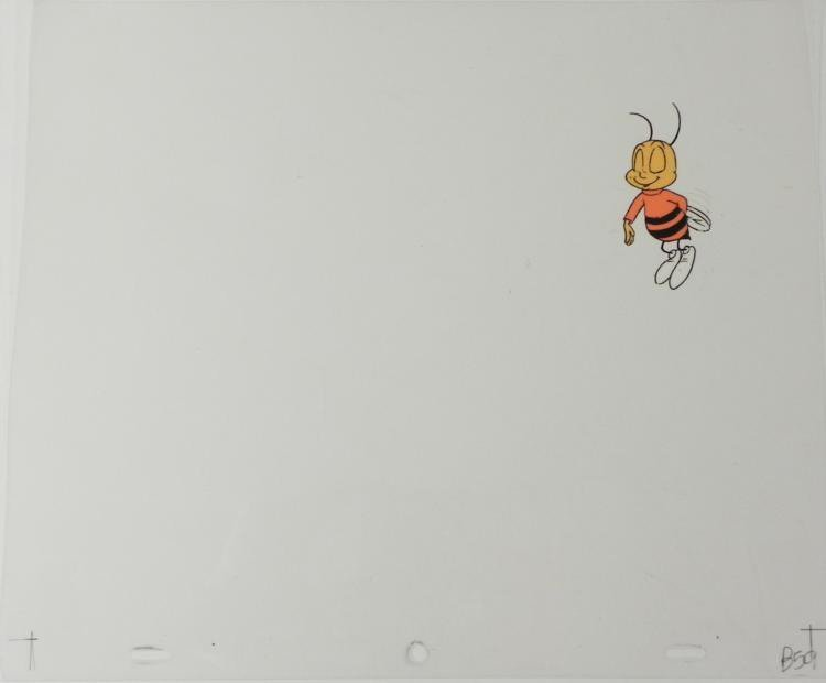 Original Buzz Animation Cheerios Wait Cel Art Nut Honey