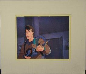 Ghostbusters Original Animation Production Cel Venkman