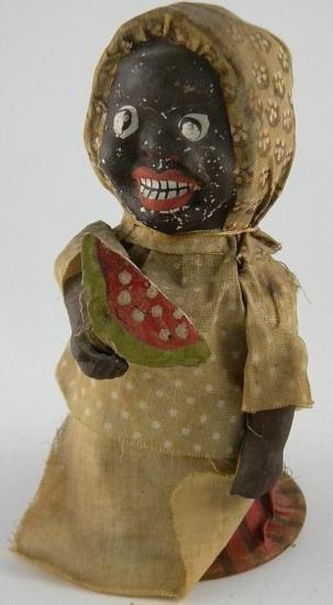 19th Century Composition Black Woman (ET1690)