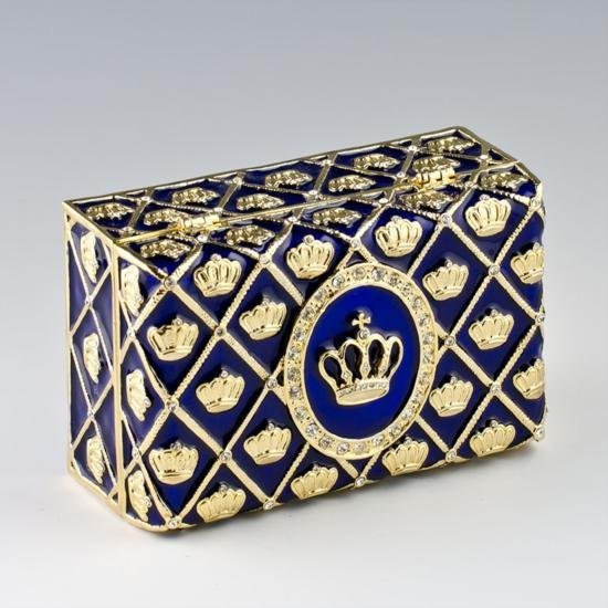 Imperial Crown Faberge Presentation Box