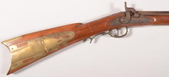 Goulcher marked Kentucky full stock rifle (GT1686)
