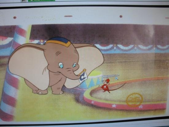 Dumbo the Flying Elephant Movie Cell