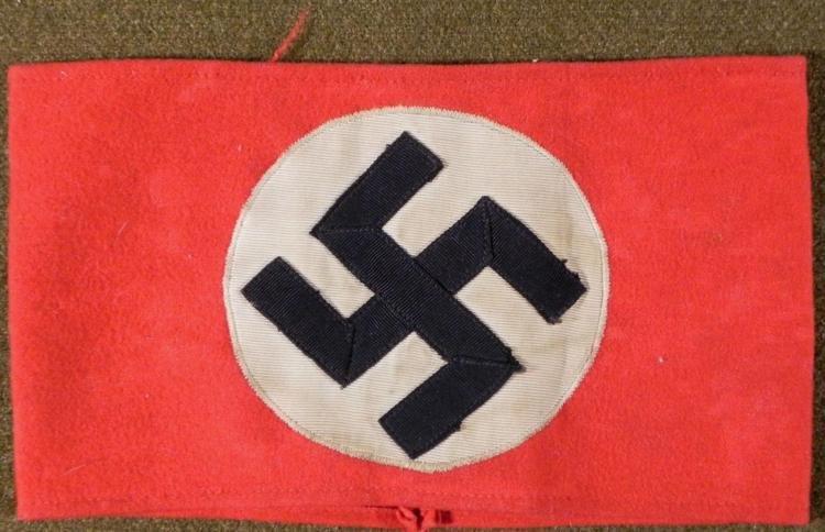 NAZI LEADERS NSDAP PARTY ARMBAND ORIGINAL